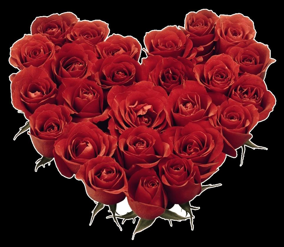 Composizioni rosa cuore