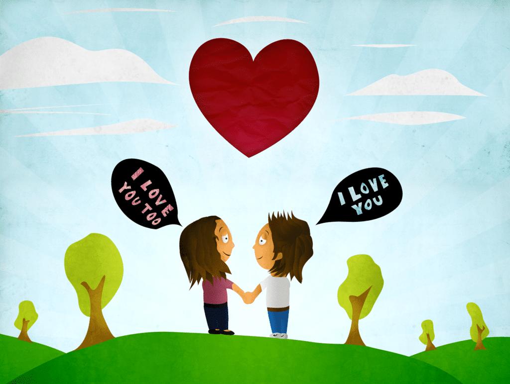 I love you (