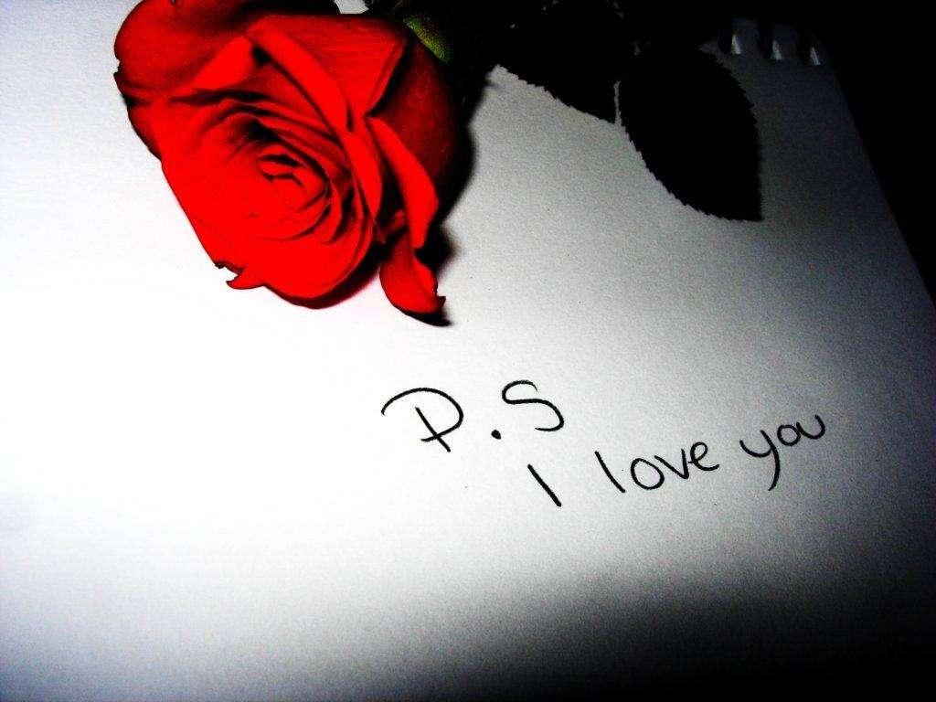 I love you con rosa