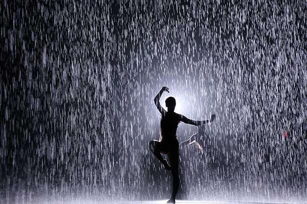 Danzare sotto la pioggia