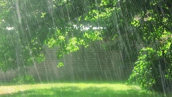 Pioggia e sole
