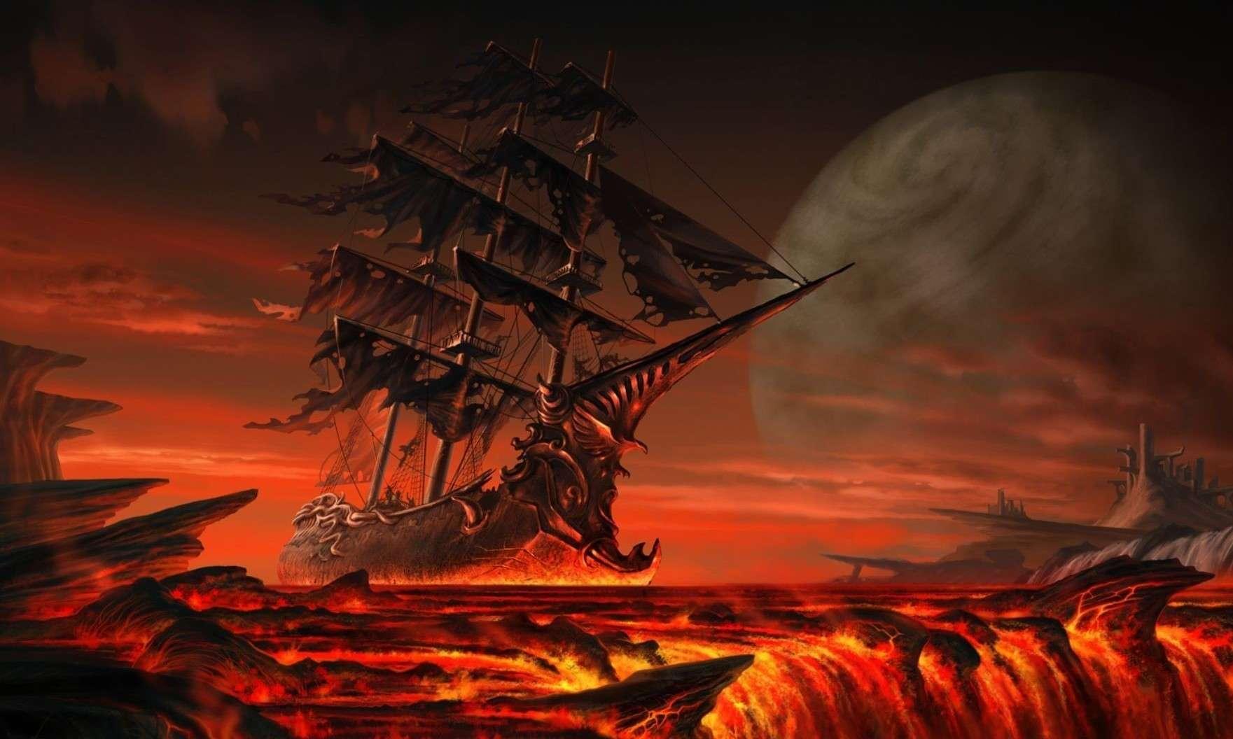 Lava eruzioni - Immagini in HD - Mare di fuoco
