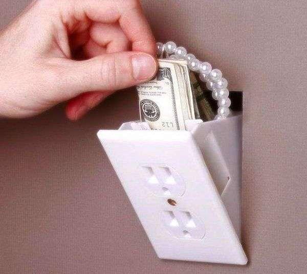 Idee nascondi oggetti per la casa