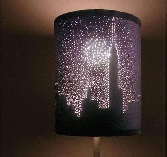 Design orinale lampade skyline