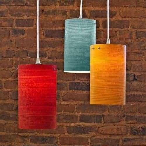 Idee colorate lampadari per la casa