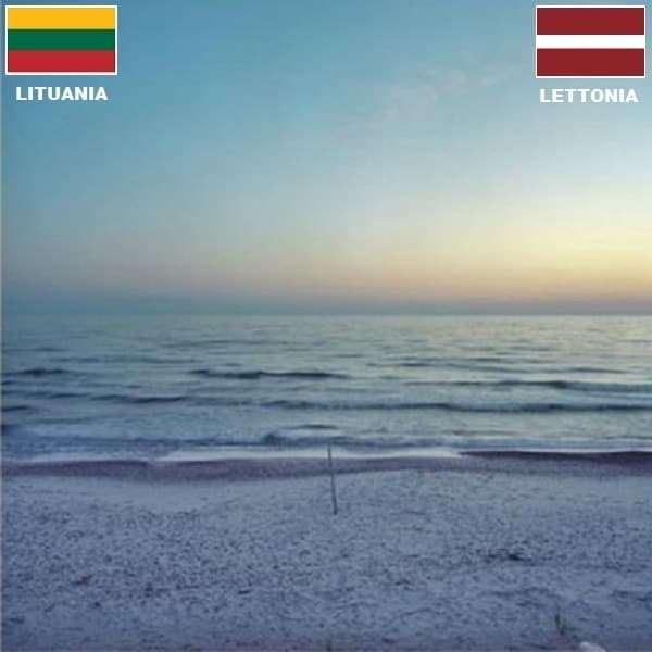 Confini internazionali - Confini tra stati Lituania Lettonia