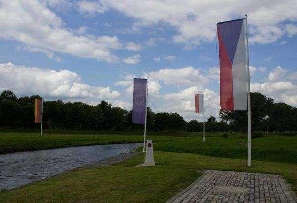 Confini internazionali Polonia Germania Repubblica Ceca - Confini tra stati spettacolari