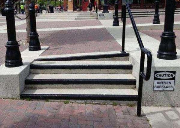 Scale divertenti pericolose