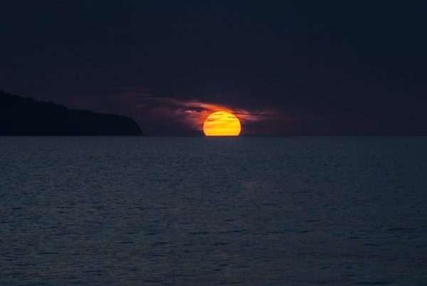Luna In mare