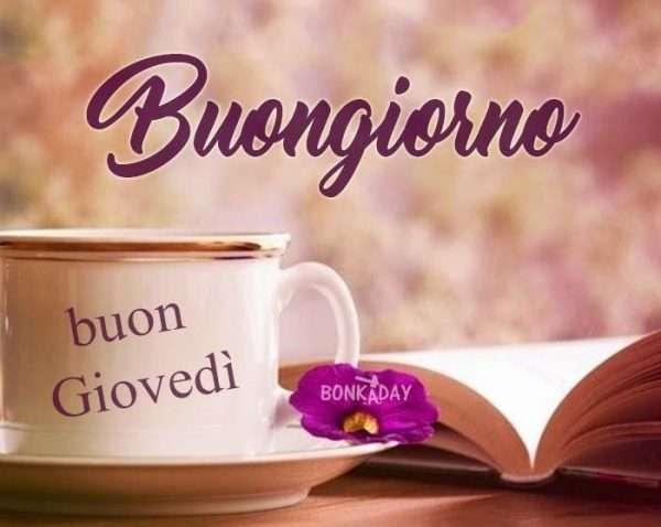Buongiorno caffè Giovedì