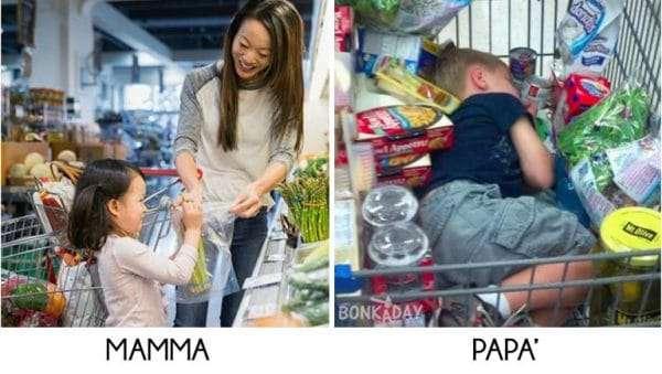 Bambini Divertenti supermecato