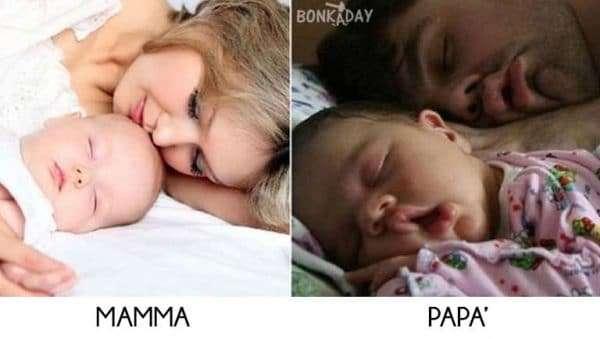 Bambini che dormono divertenti