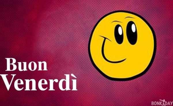 Smile Buon Venerdì