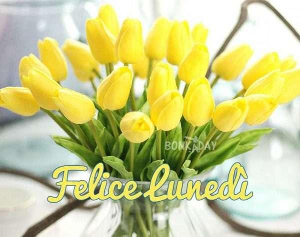 buon lunedì fiori