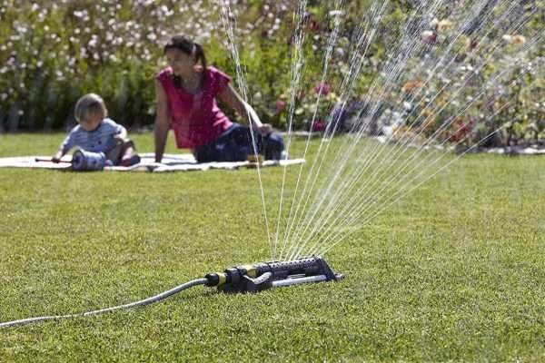 Irrigatore girante