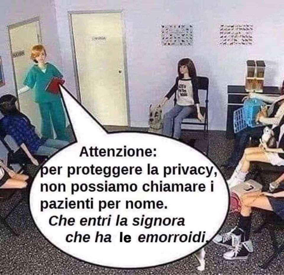 privacy dal dottore