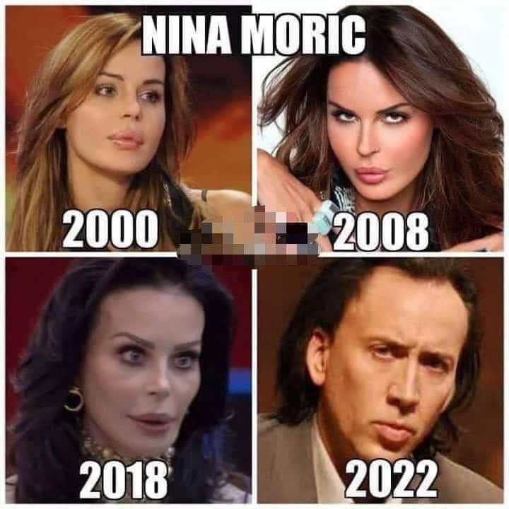 Nina Moric nel futuro