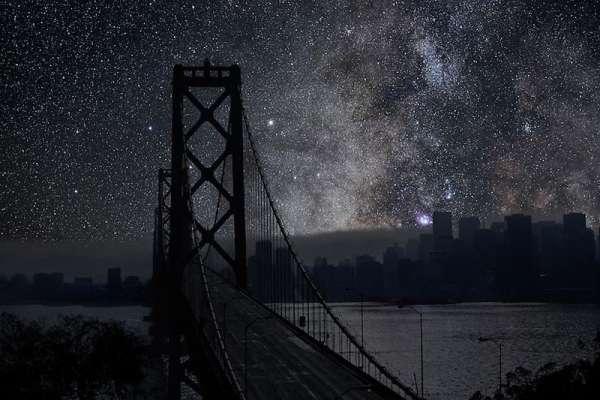 Il-cielo-di-notte-sopra-San-Francisco